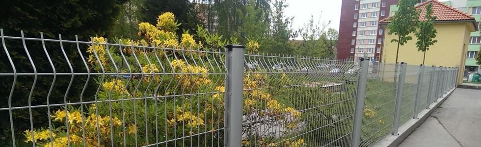 Svařované ploty pro průmyslové areály - Vysočina