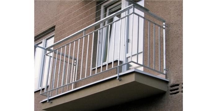 Balkonové zábradlí podle požadavku zákazníka