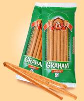 Graham tyčinky se zvýšeným podílem vlákniny, vhodné pro redukční diety