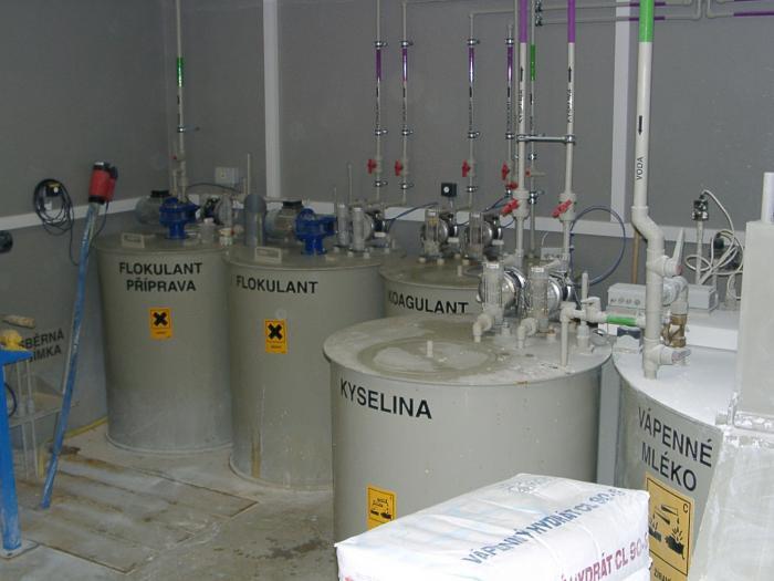 Údržba a servis technologií na čištění odpadních vod