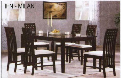Jídelní sety, stůl a židle z Kuchyňského studia TPZ Znojmo