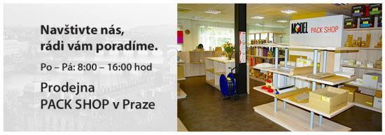 Prodej zásilkových obalů - Pack Shop Praha