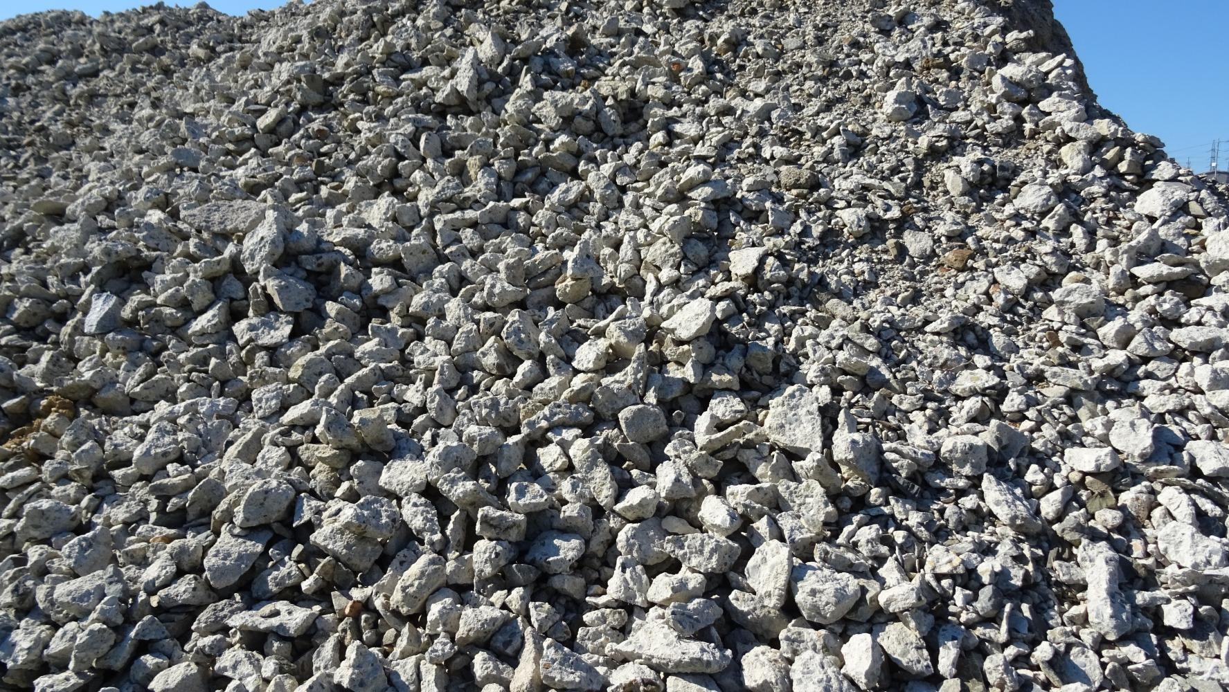 Kamenivo Zlín - prodej betonového recyklátu