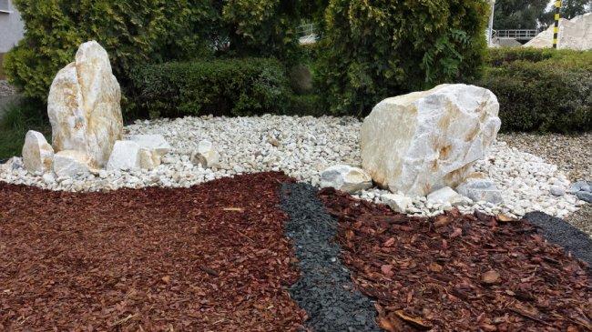 Sypké materiály pro zahrady