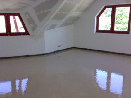 Samonivelační anhydritová podlaha