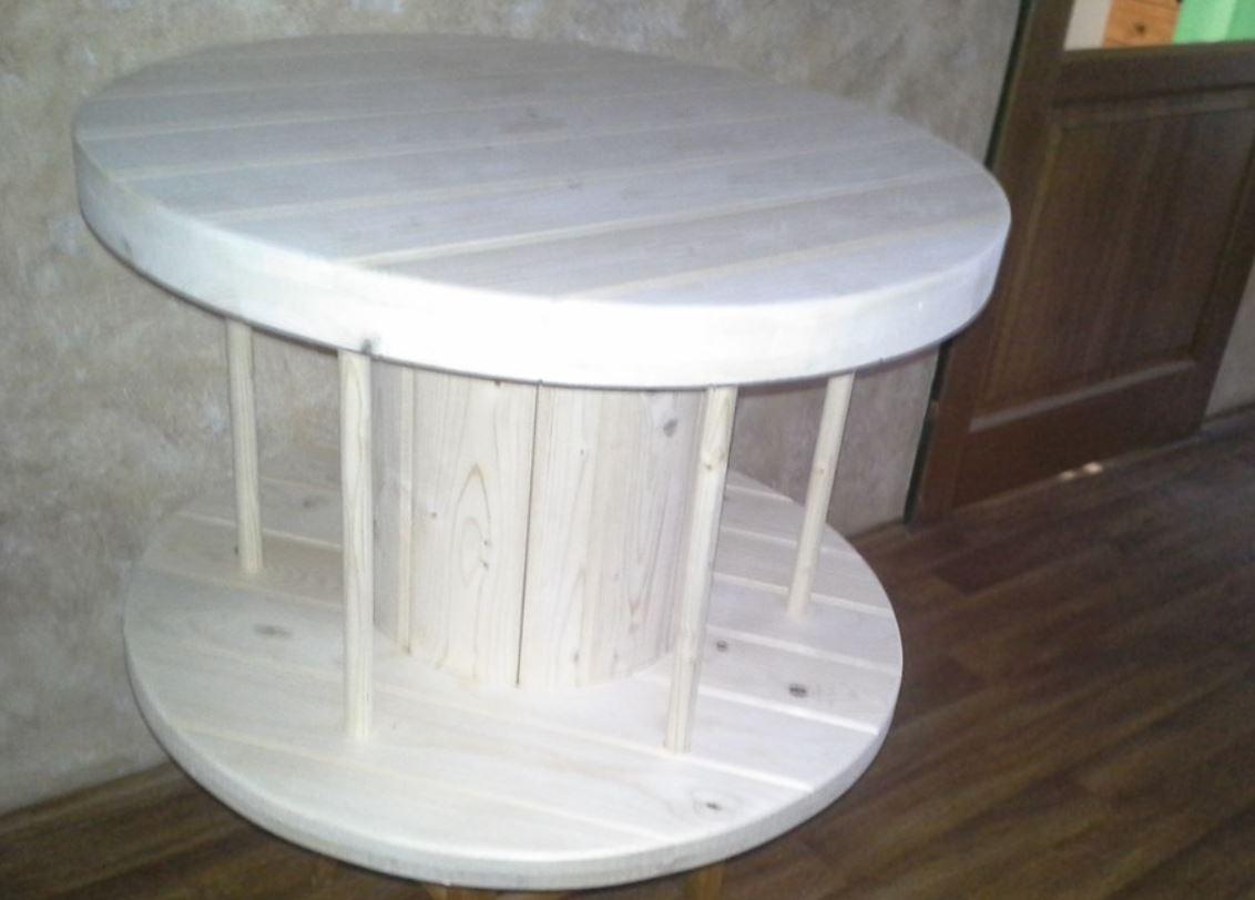 Stolárna Santo, a.s. - stoly z kabelových bubnů