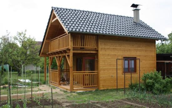 Stolárna Santo, a.s. - výroba zahradních domků