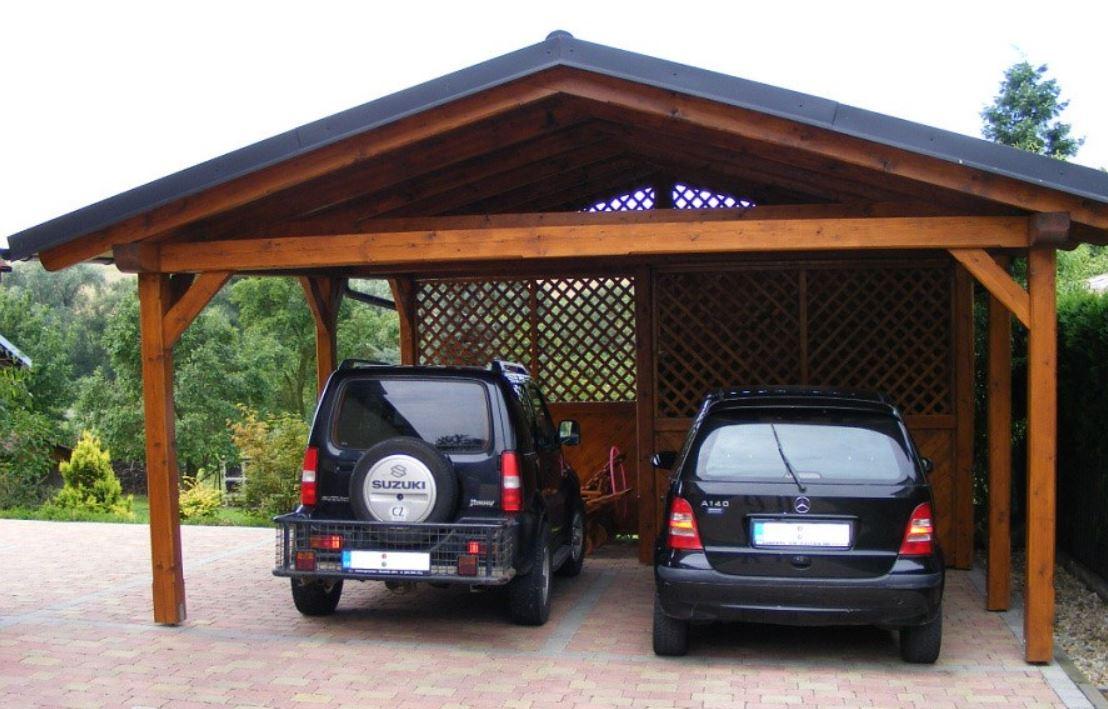 Stolárna Santo, a.s. - přístřešky pro auta a pergoly