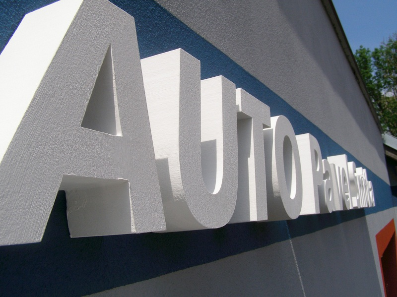 Reklamní 3D loga, nápisy -  ALMA-reklama s.r.o. Praha