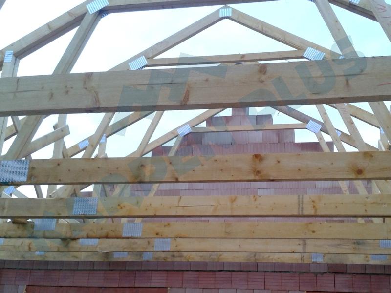 Výroba dřevěných příhradových vazníků - jižní Morava