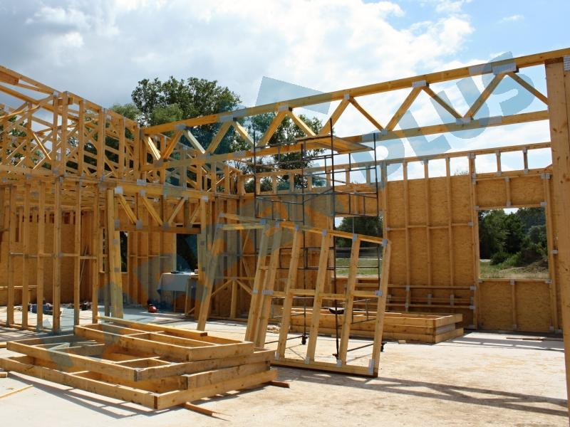 Výroba dřevěných trámů, hranolů, palubek, dřevostavby