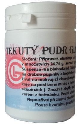 Galenická laboratoř Ostrava - tekutý pudr