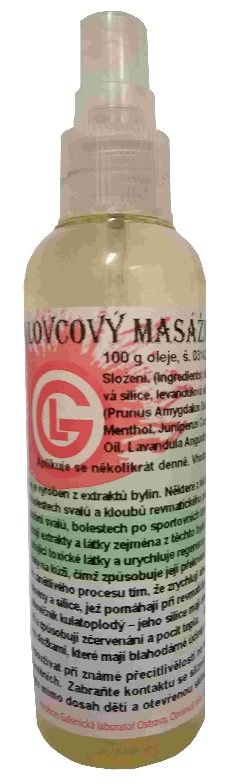 Masážní olej jalovcový - úleva při bolestech svalů a kloubů
