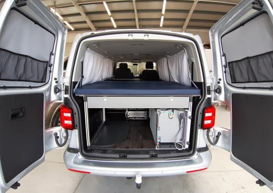 Modulový systém obytného vozu - Van Camping Modul