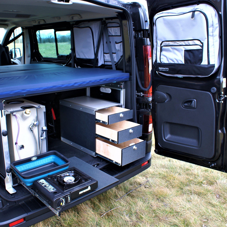 Komfortní cestování s obytným autem Van Camping Modul, Zlín