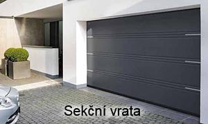 Privátní garážová vrata sekční - AutoDOOR Uherský Brod