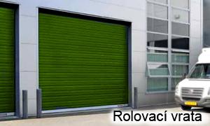 Průmyslová garážová vrata rolovací - AutoDOOR Uherský Brod