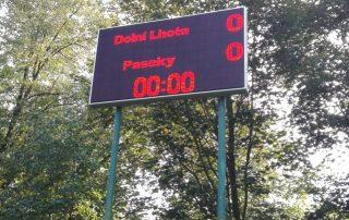 Informační LED panely pro sportovní akce - SATTURN HOLEŠOV