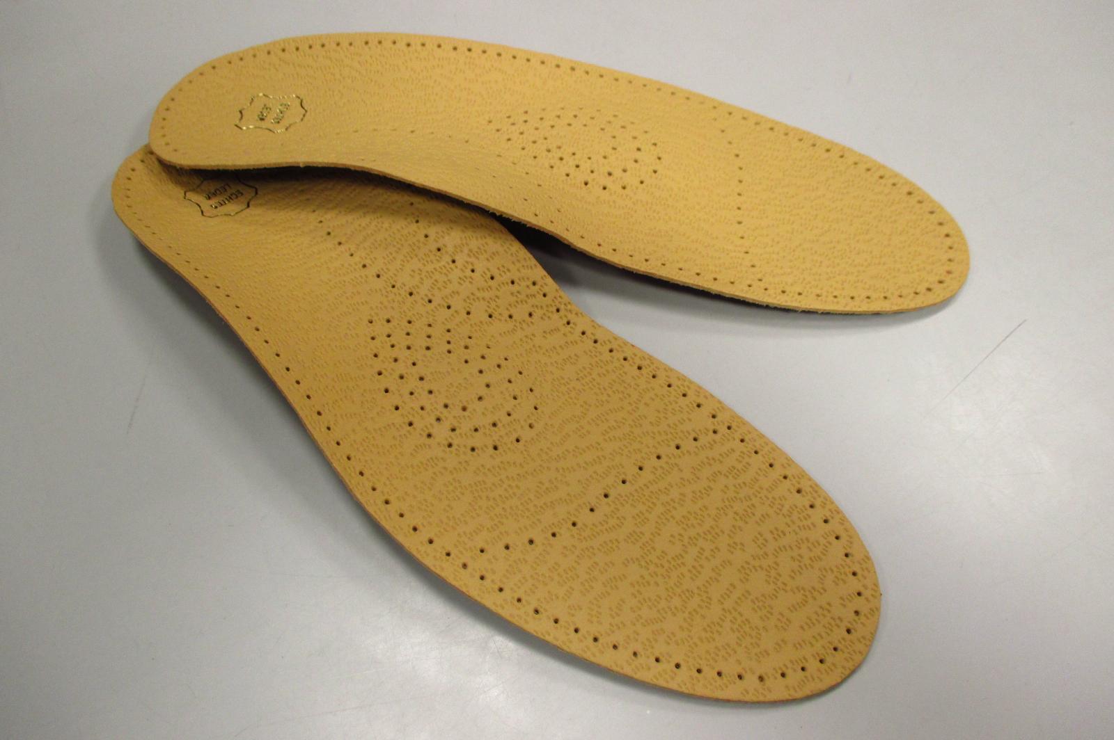 Kožené vložky v prodejnách s obuví OBUV SVOBODA