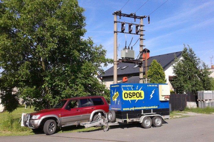 Prodej a servis dieslových a benzínových elektrocentrál