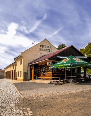 Pivovarská prodejna v Rohozci