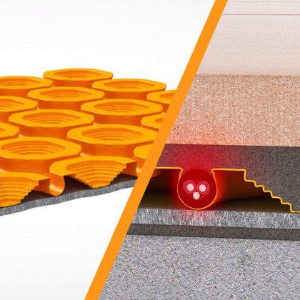 Schlüter®-DITRA-HEAT elektrické vytápění nebo temperování podlah