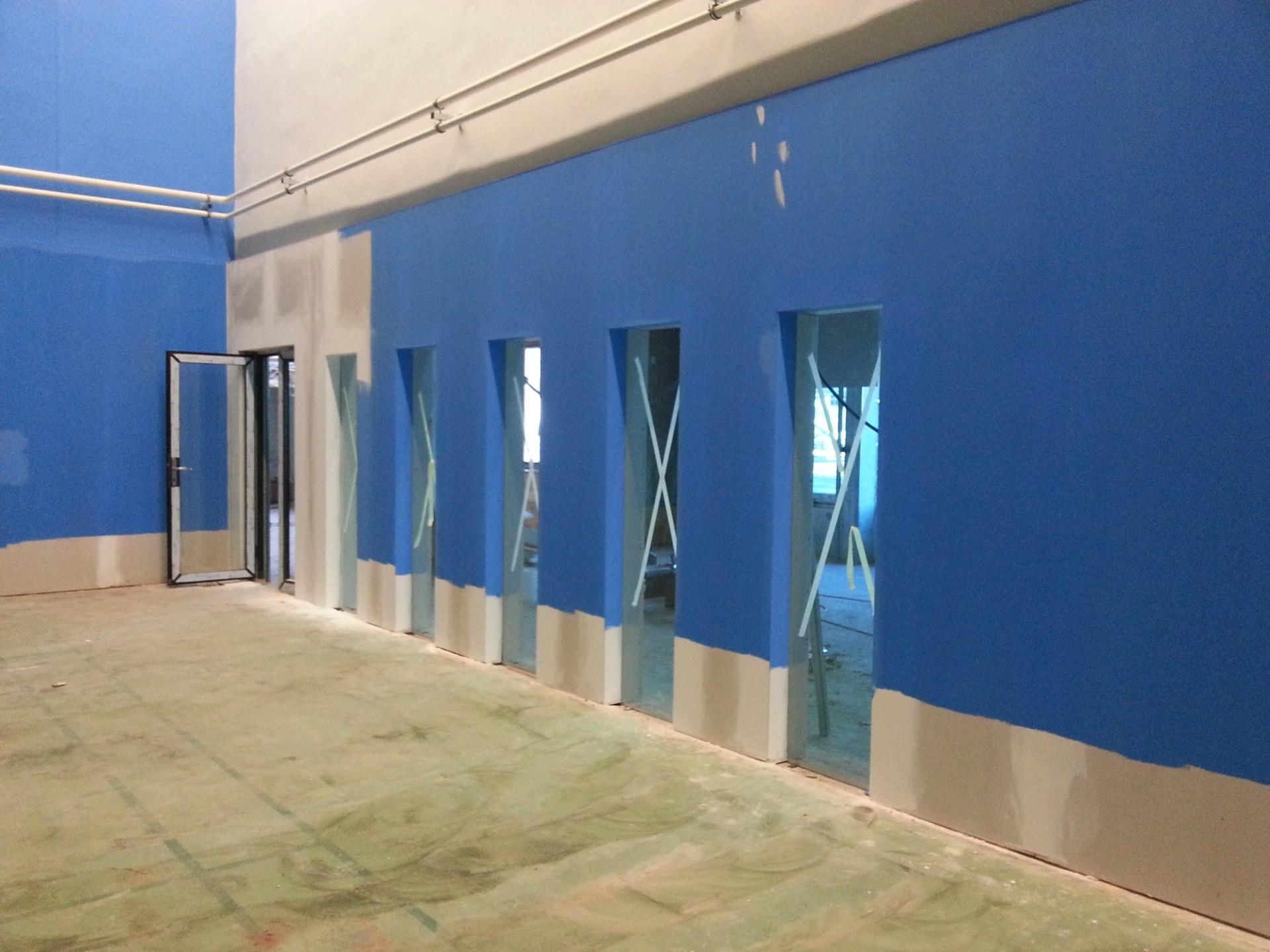 Míchání fasádních a interiérových barev