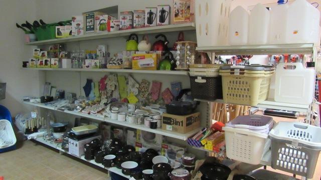 Bohatý sortiment domácích potřeb v prodejně v Napajedlích