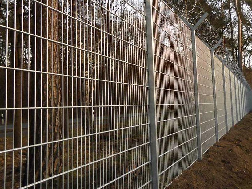 Plotový zinkovaný 2D panel - Tridif s.r.o. Zlínský kraj