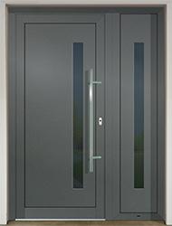 Vchodové dveře z hliníkového profilu - Slovaktual Zlín