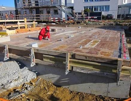 Výroba a montáž dřevěného bednění pro stavby