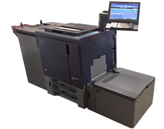 Digitální stroj Konica Minolta - tiskárna KODIAK print s.r.o. Zlín