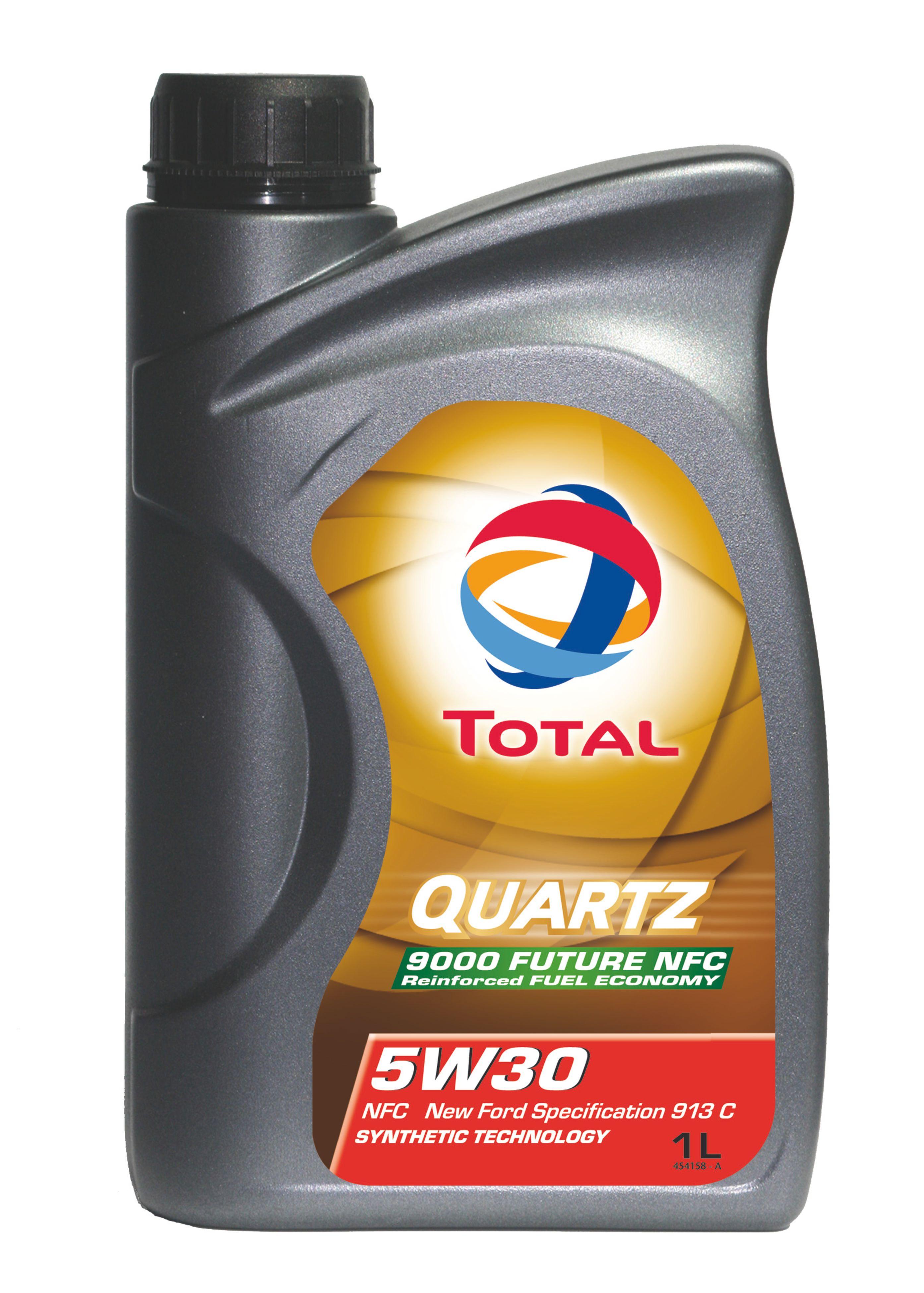 Total Quarz - syntetický motorový olej pro osobní automobily