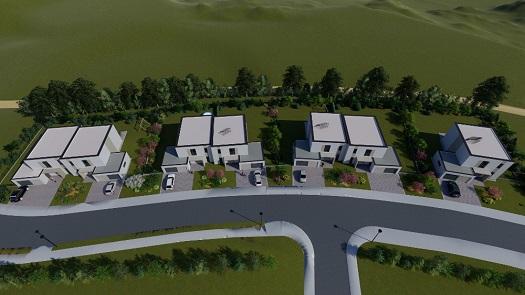 Nadstandardní rodinné domy s velkým pozemkem Nová Chýně