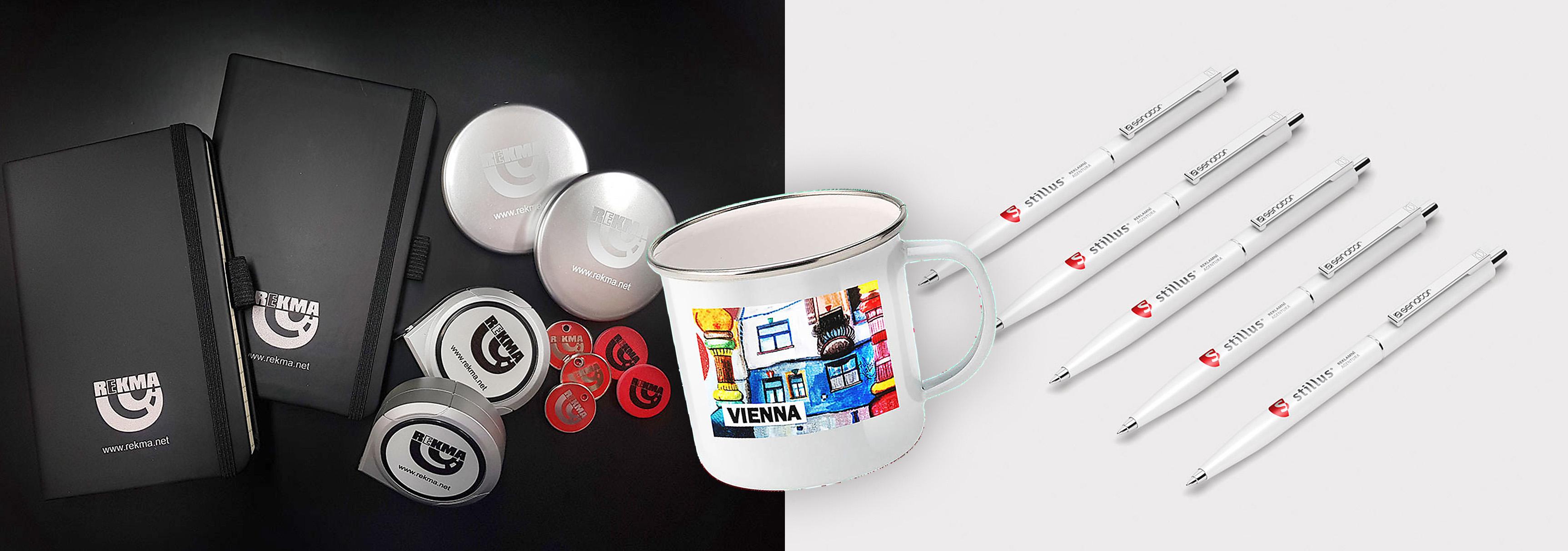 Výroba reklamních předmětů, Vaše logo na různých předmětech