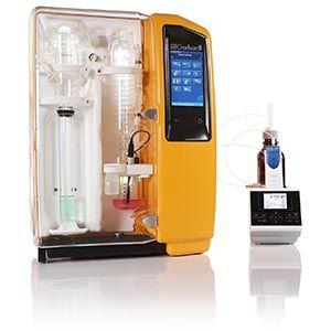 Komfortní destilační systém s externím titrátorem od fy. ILABO, spol. s.r.o.