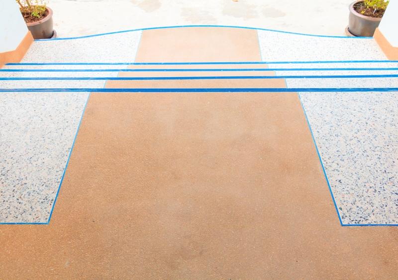 Pokládka originálních terrazzových podlah