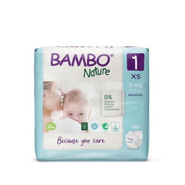 Dětské tréninkové plenkové kalhotky Bambo Nature