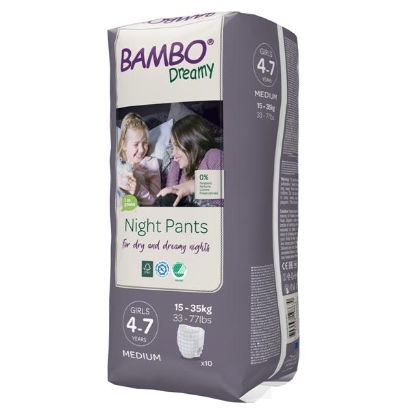 Vysoce absorpční speciální tréninkové kalhotky Bambo Nature