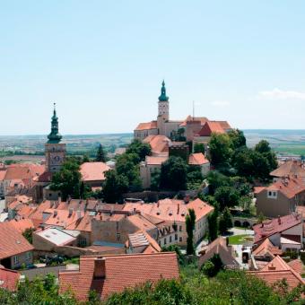 Putování po jižní Moravě, mikulovský zámek