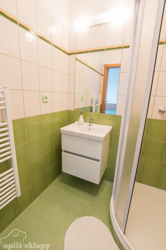 Moderní koupelny v apartmánech Opilé sklepy Velké Pavlovice