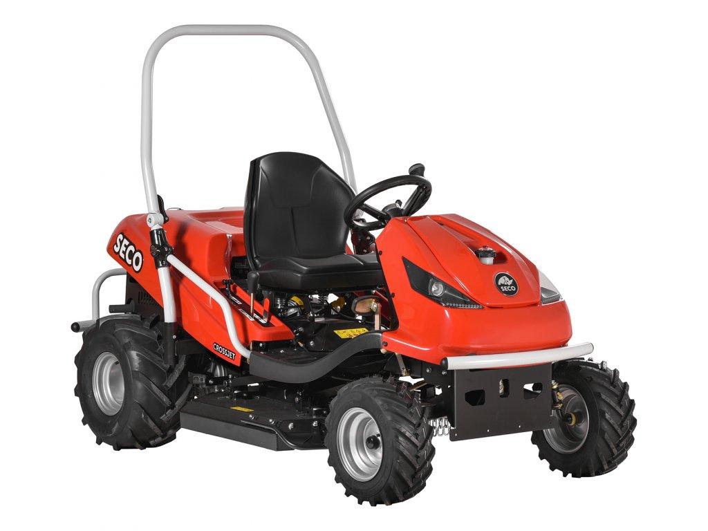 Zahradní traktory Seco s příslušenstvím dodává SYNPRO, s.r.o.