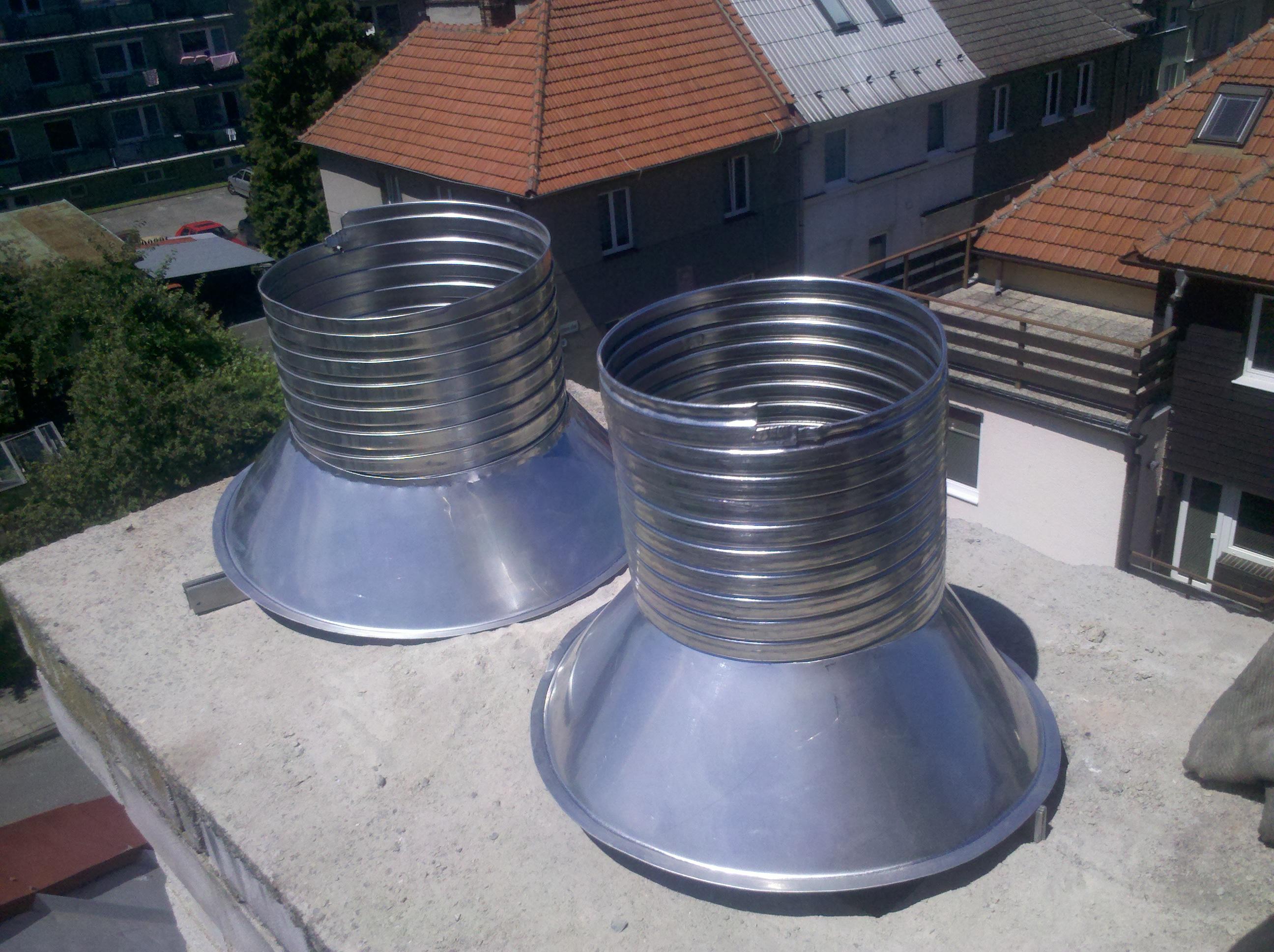 Plynové komínové vložky, kominické práce Kominictví Marek Švécar