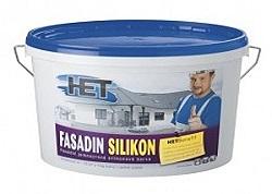 Fasádní silikonové barvy HET s protiplísňový účinkem