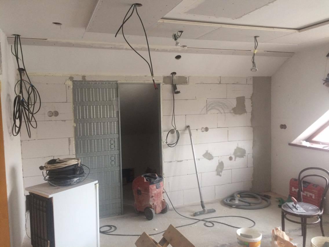 Bourací a zednické práce, přestavba interiérů