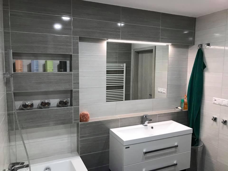 Nová koupelna na klíč, bourací, vyklízecí a zednické práce