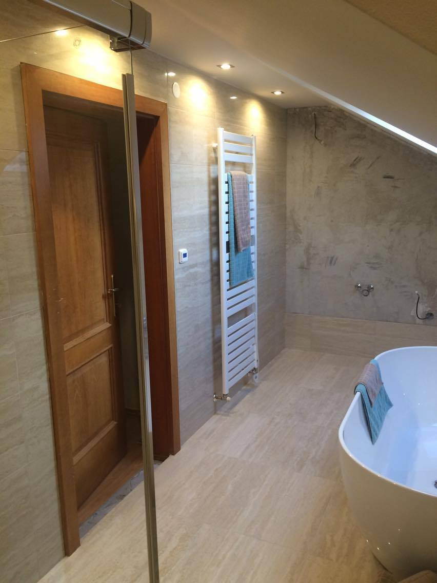 Rekonstrukce stávající koupelny - RG Interéry Ivančice