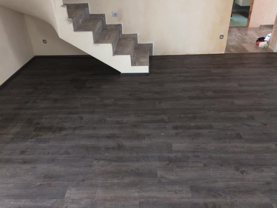Pokládka podlahových krytin - laminátová, vinylová podlaha, PVC