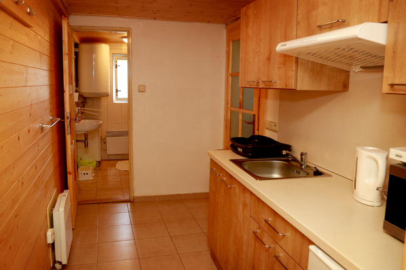 Plně vybavená kuchyně Chalupy Sněženka, Orlické hory