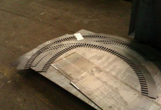 Zpracování ocelových plechů pomocí CNC pálení laserem